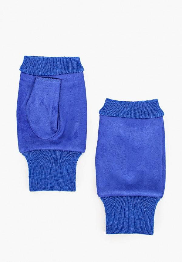 женские митенки pur pur, синие