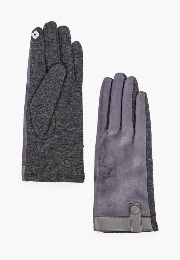 женские текстильные перчатки pur pur, синие