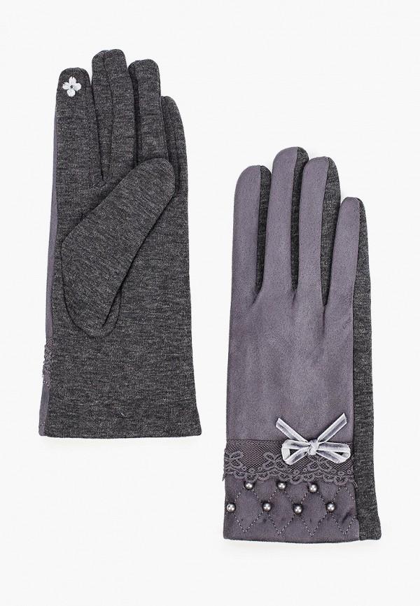 женские текстильные перчатки pur pur, коричневые