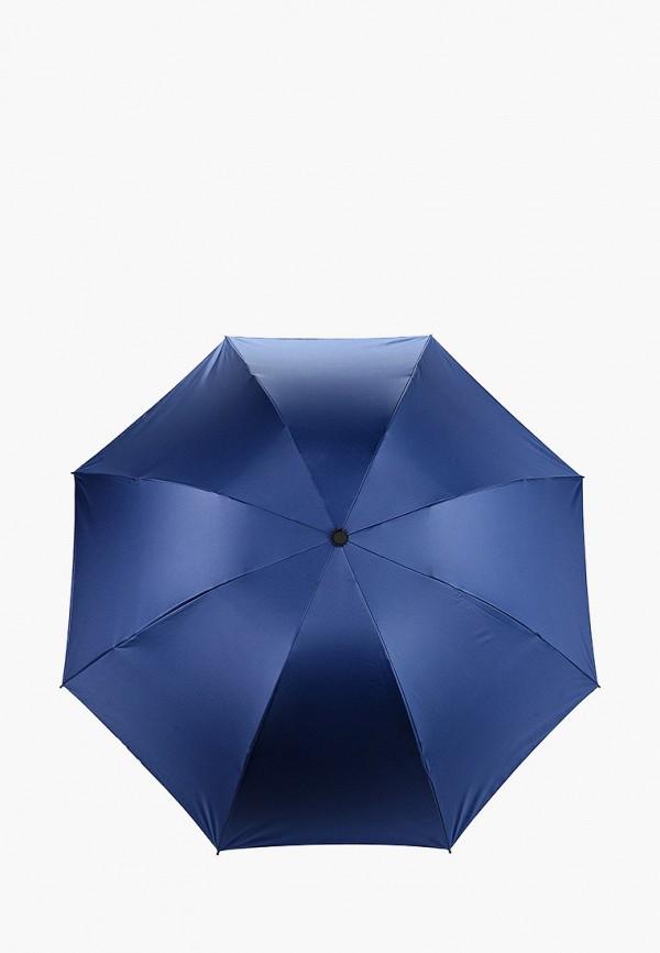 женский складные зонт pur pur, синий