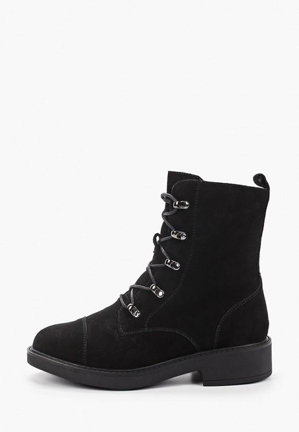 женские высокие ботинки berkonty, черные