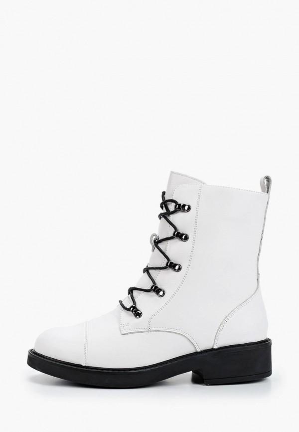 женские высокие ботинки berkonty, белые