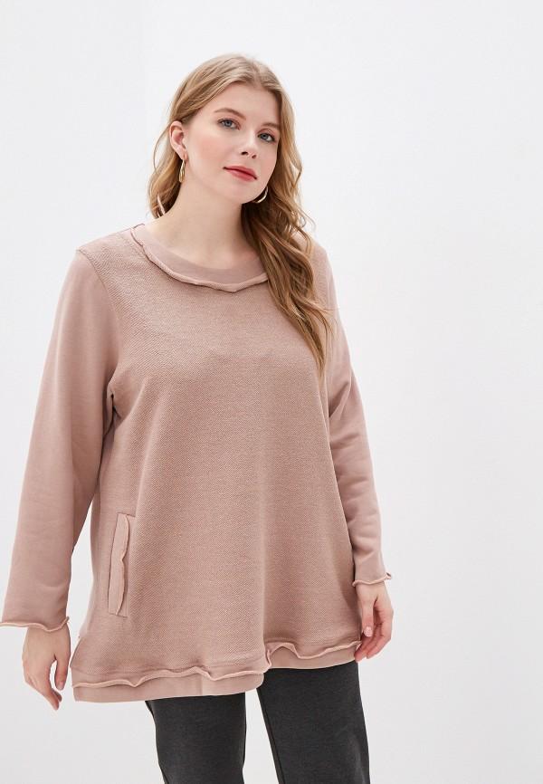 женская туника olsi, розовая