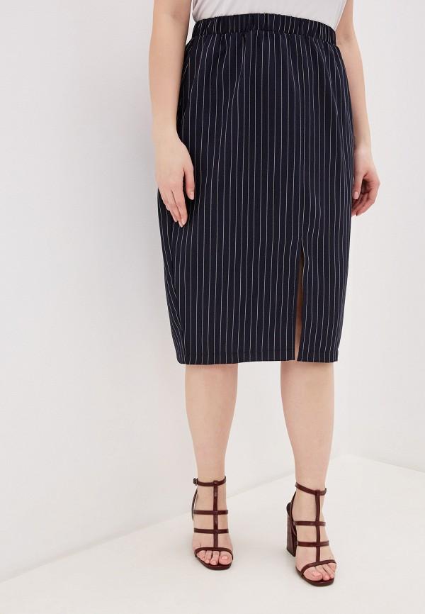 женская юбка миди jp, черная