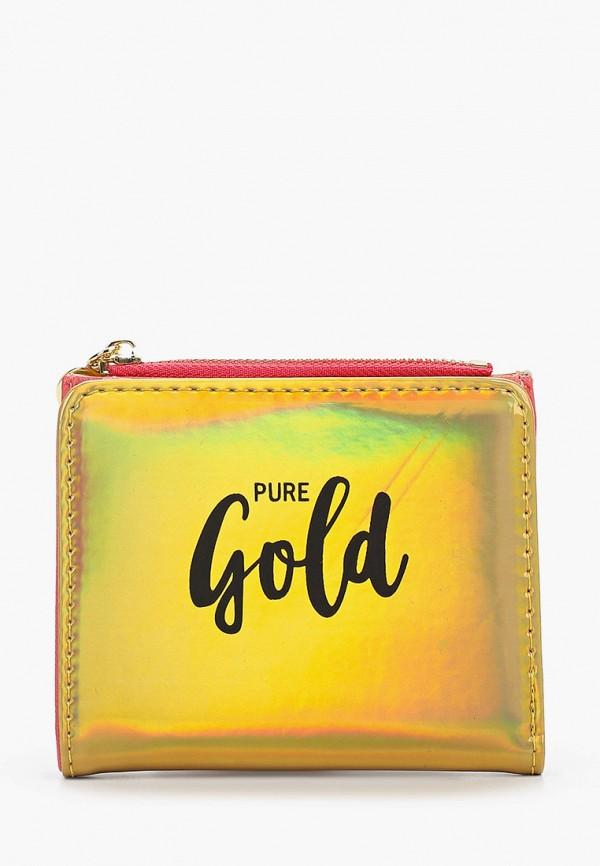 женский кошелёк zakka, золотой
