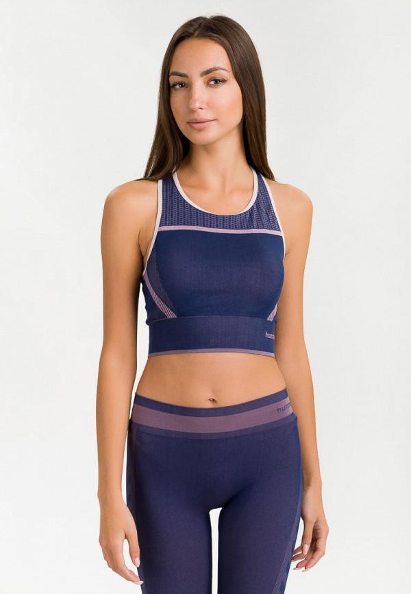 женский спортивный костюм hummel, синий