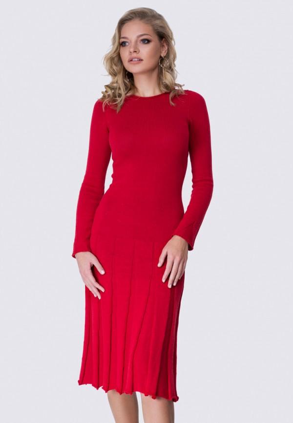 женское платье anushka by anna pavlova, красное