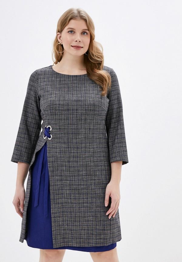 Платье Viserdi Viserdi MP002XW0GO4W платье miata серый 48 размер