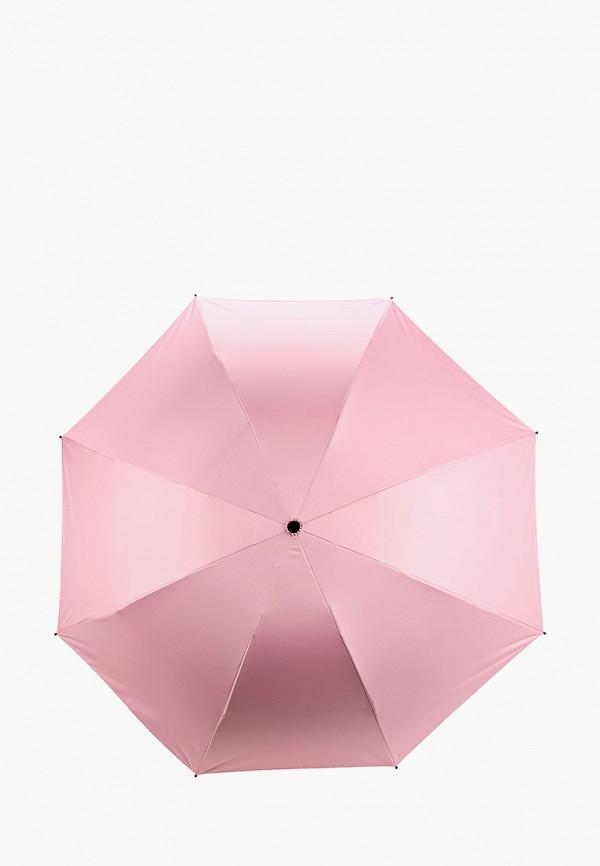 женский складные зонт pur pur, розовый