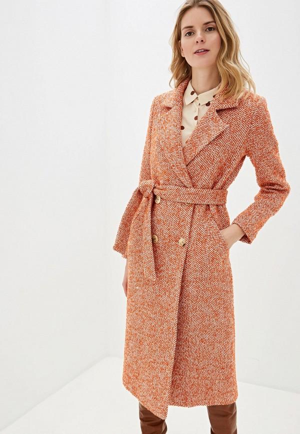Фото - Женское пальто или плащ Aylin Stories оранжевого цвета
