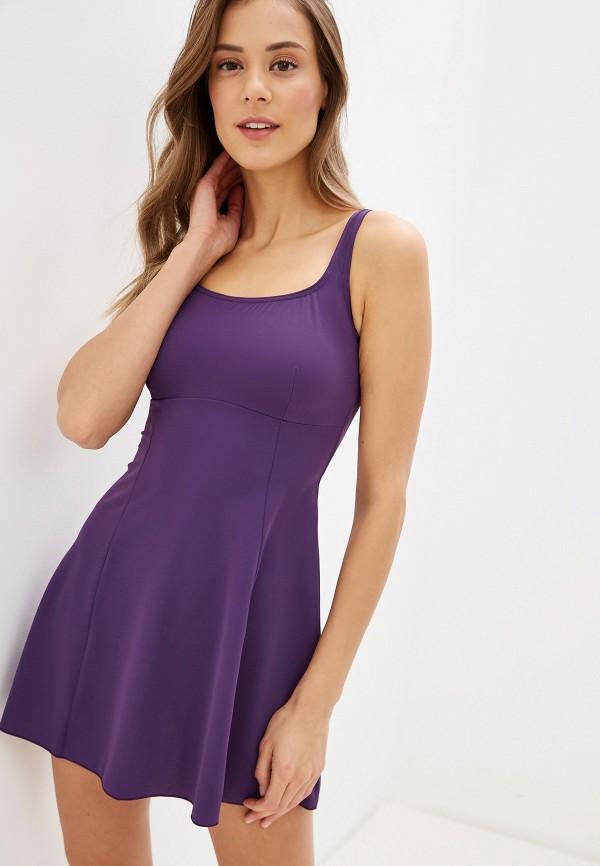 женский купальник kom, фиолетовый