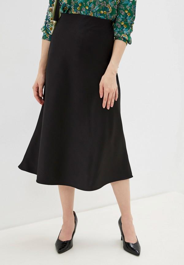 женская юбка-трапеции lacitta, черная