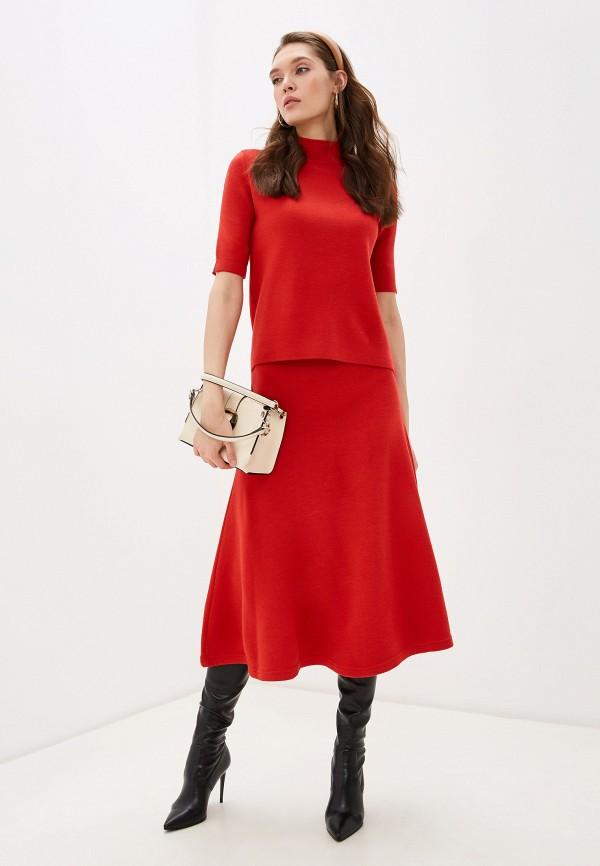 женский костюм bgn, красный