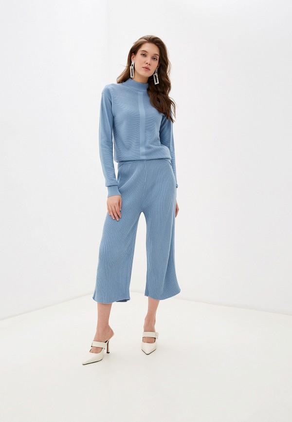 женский костюм bgn, голубой