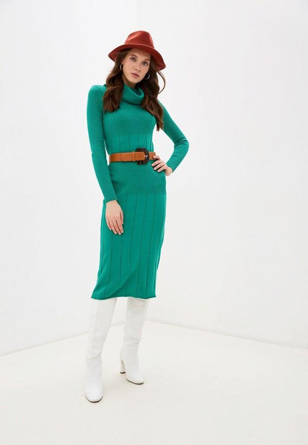 женский костюм bgn, зеленый