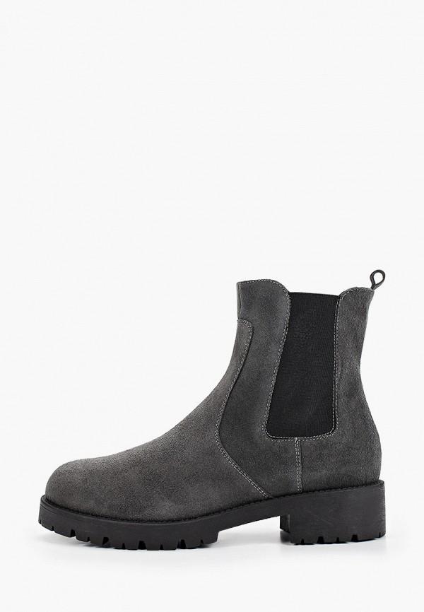 женские ботинки-челси argo, серые