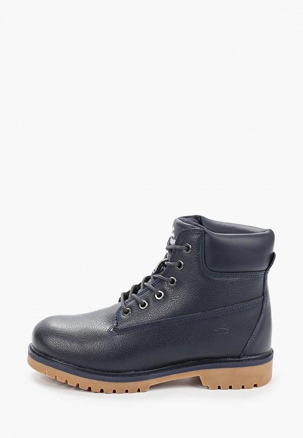 женские ботинки sigma, синие