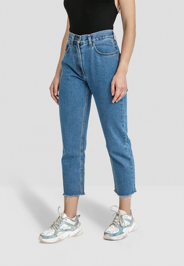 женские джинсы minnim, голубые