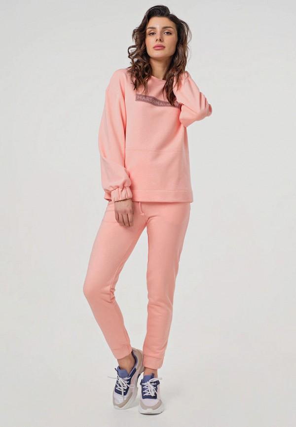 женский спортивный костюм fly, розовый