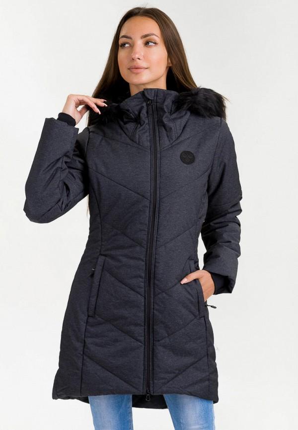 женская куртка hummel, серая