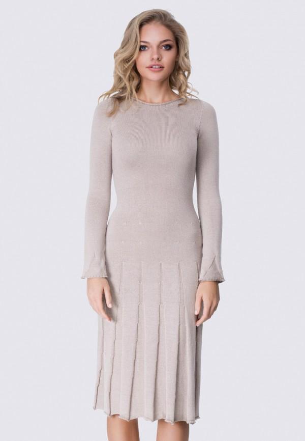 женское платье anushka by anna pavlova, бежевое