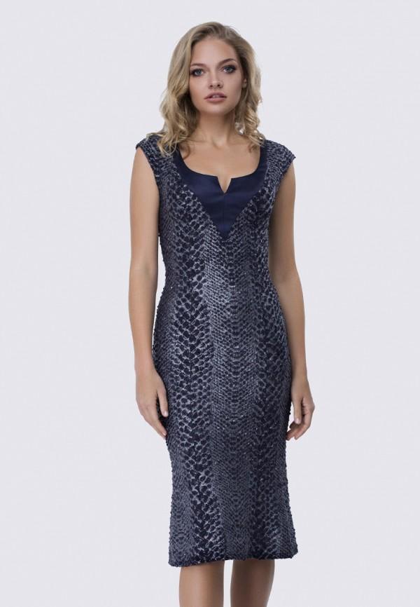 женское вечерние платье anushka by anna pavlova, серебряное