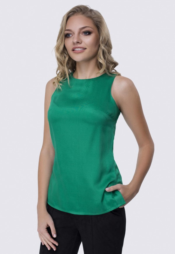женская блузка anushka by anna pavlova, зеленая