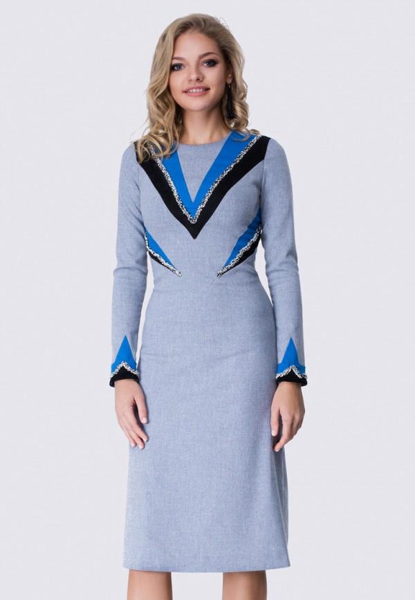 женское вечерние платье anushka by anna pavlova, голубое