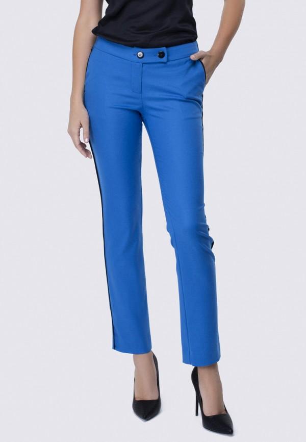 женские повседневные брюки anushka by anna pavlova, голубые