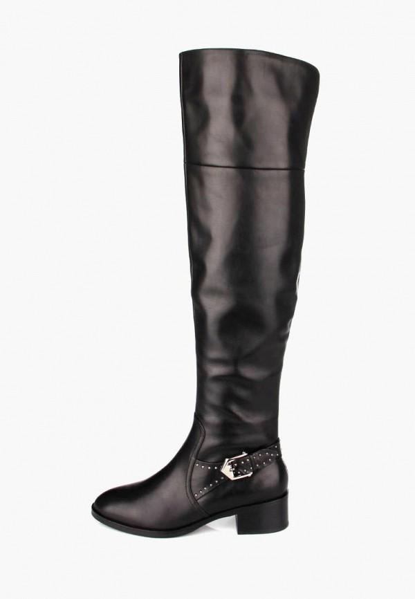 женские ботфорты ditto, черные