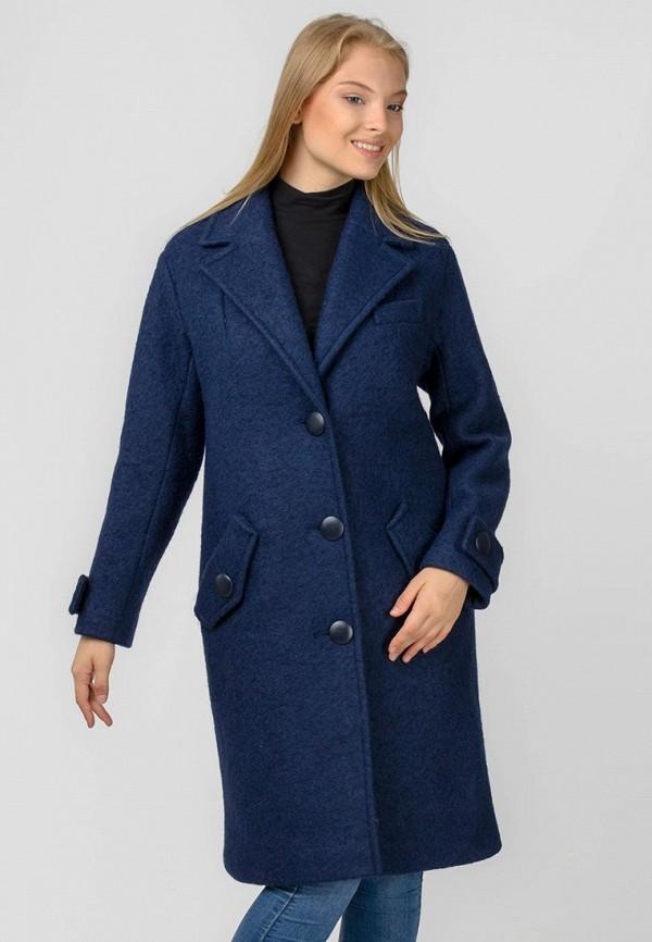 женское пальто raslov, синее
