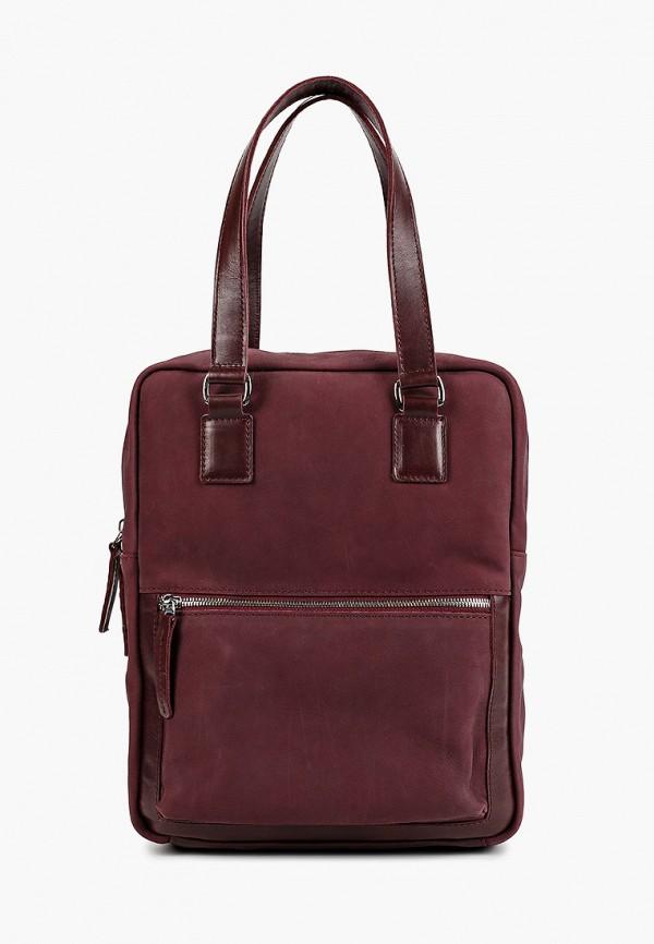 женский рюкзак igermann, бордовый