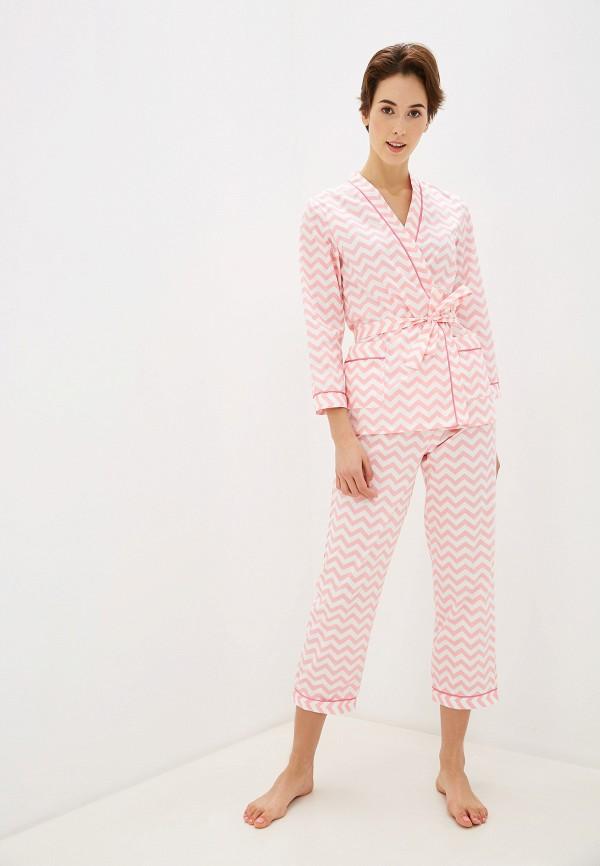 женский костюм vivaldi, розовый