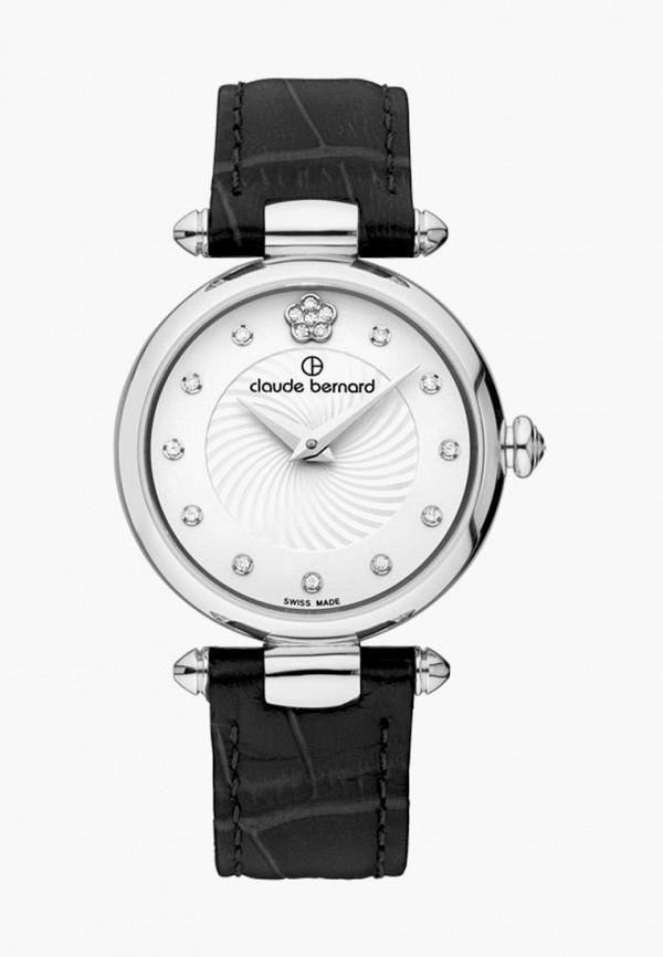 женские часы claude bernard, черные