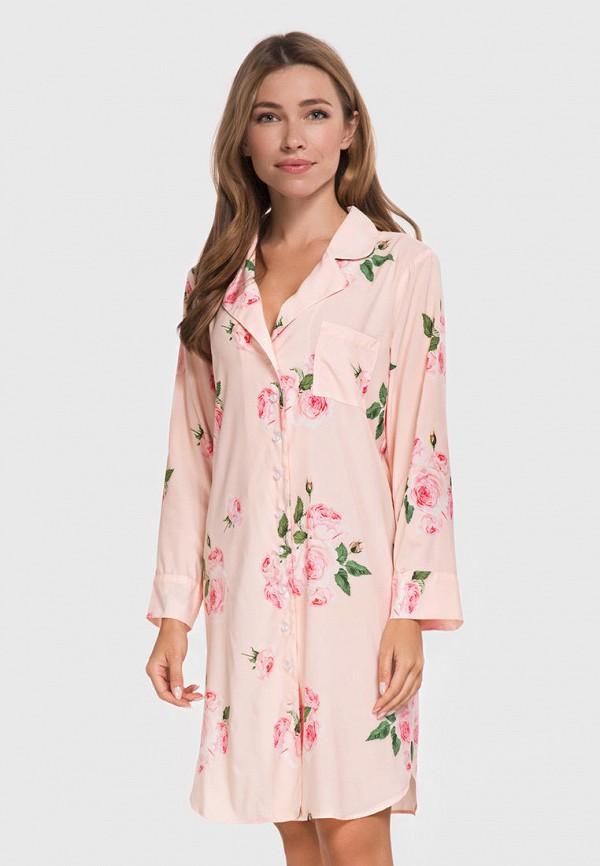 женский халат german volf, розовый