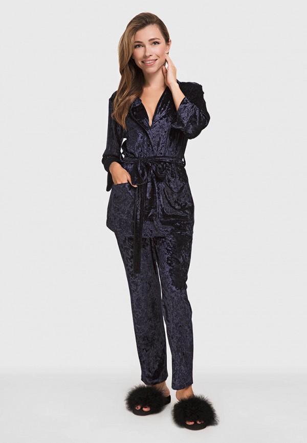 женская пижама german volf, синяя