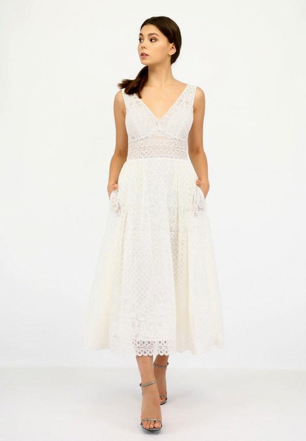 женское вечерние платье miodress, бежевое
