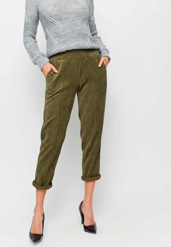 женские повседневные брюки karree, хаки