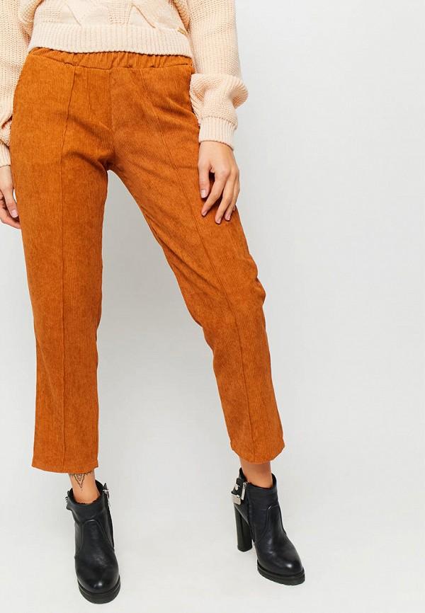 женские повседневные брюки karree, оранжевые