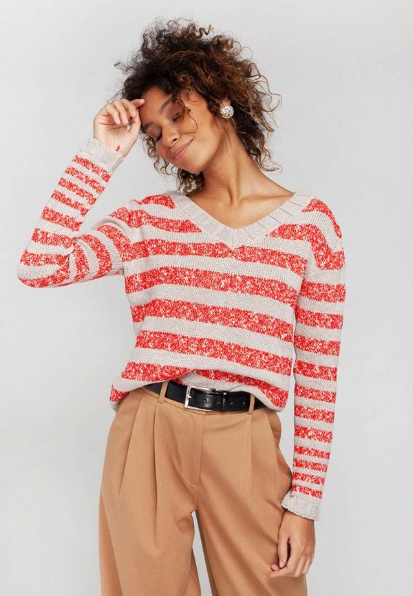 женский пуловер nataclub, разноцветный