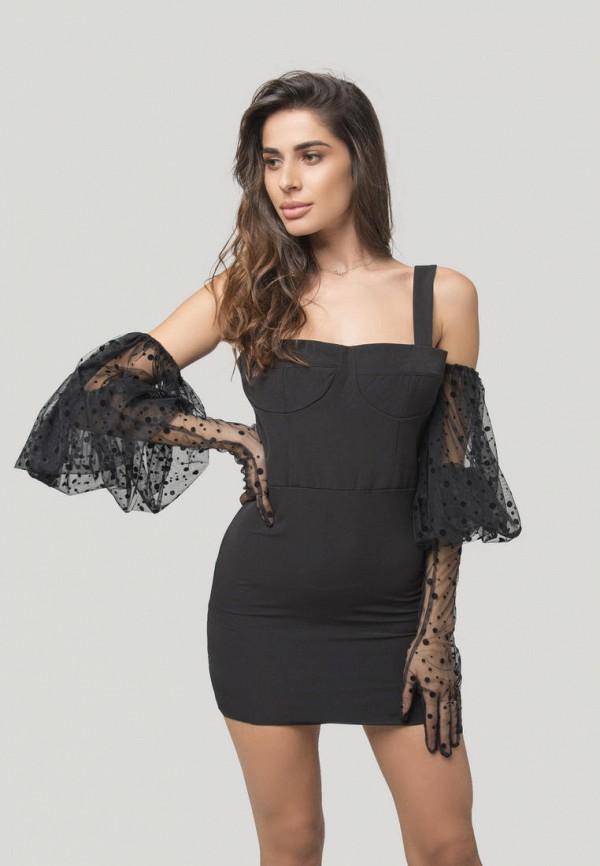 Платье Lipinskaya-Brand, Черный, Messina