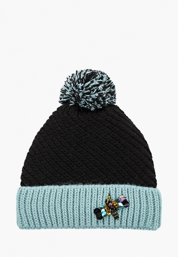 женская шапка regarzo, бирюзовая
