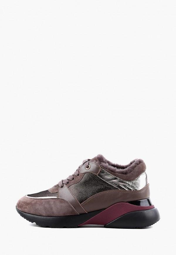 женские кроссовки leberdes, коричневые