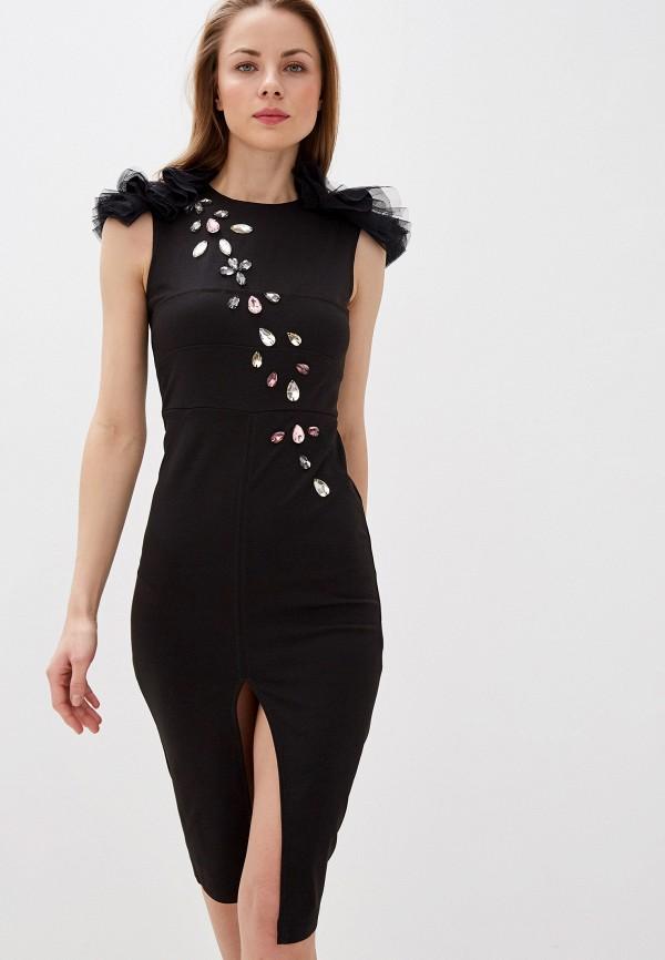 Платье Alasia Fashion House Alasia Fashion House  черный фото