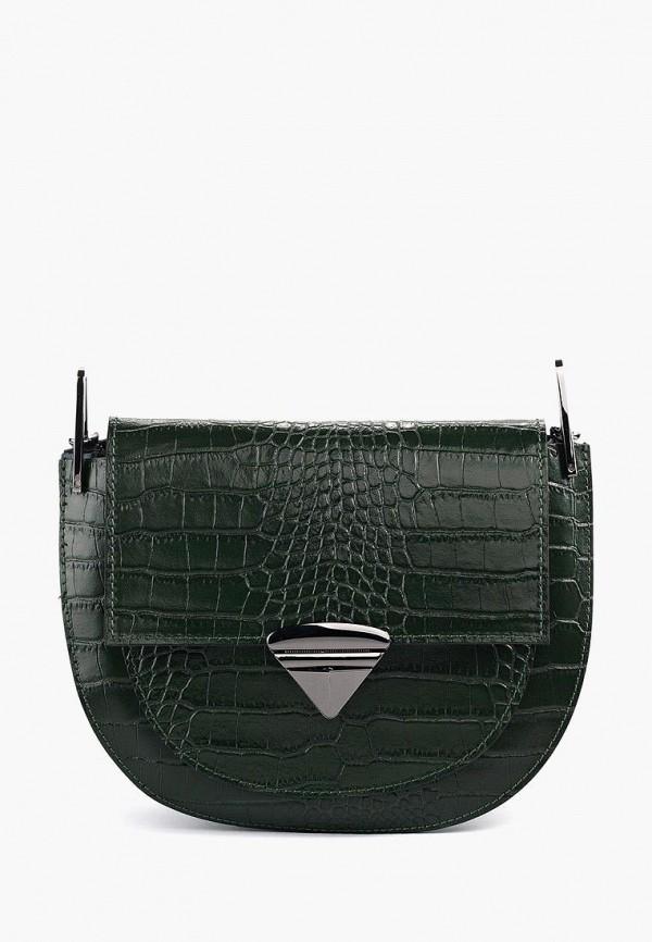 женская сумка vivat accessories, зеленая