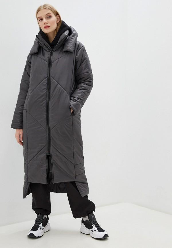 Фото - Куртку утепленная Crocodile Coup серого цвета
