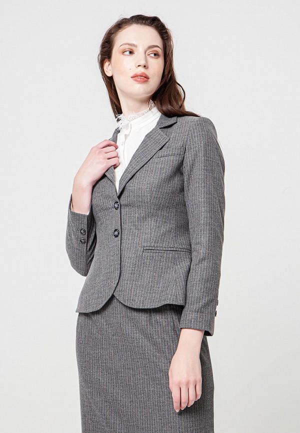 женский пиджак bgn, серый