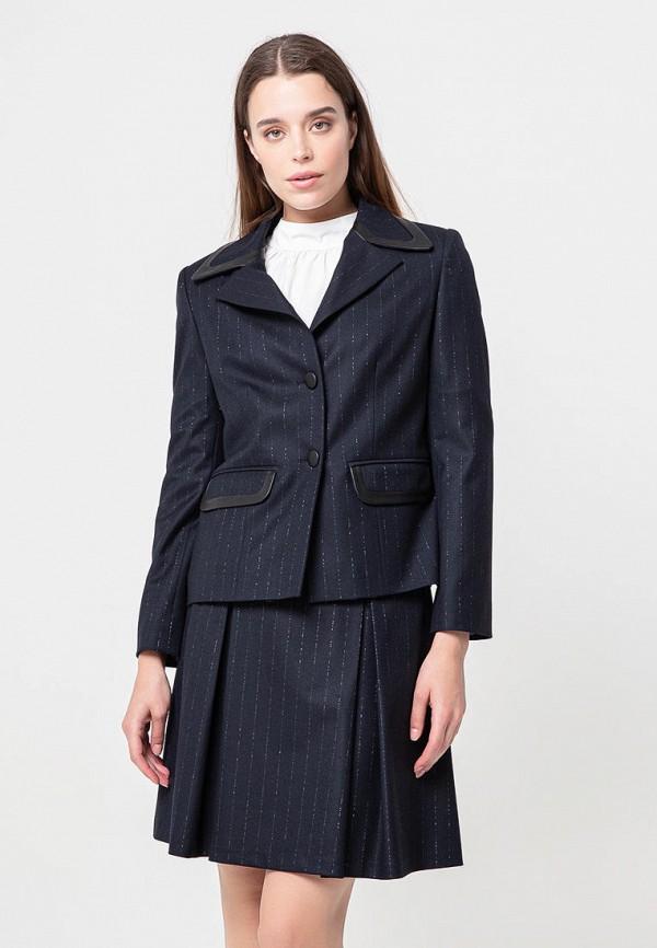 женский пиджак bgn, синий
