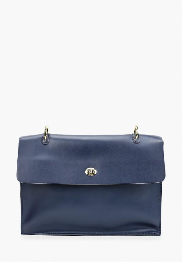 женская сумка через плечо shoiberg, синяя