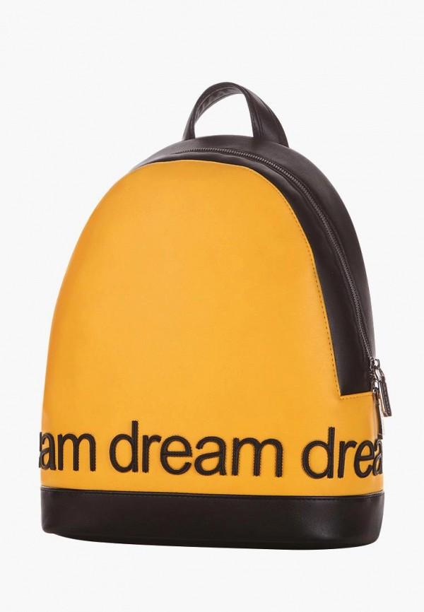 женский рюкзак alba soboni, желтый